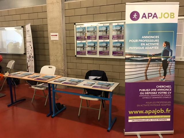 APA JOB au Congrès National des Professionnels des Activités Physiques Adaptées
